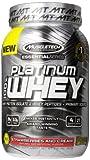 MuscleTech Platinum 100% Whey Protein Powder,  Strawberries and Cream,  2.0 lbs (907g)
