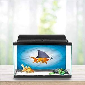 Shark Aquarium Background Sticker Fish in Ocean Swimming Side Aquarium Poster Background Decoration