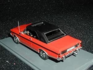 1/43 Ford Taunus P7 20M RS Coupe Red (japan import)