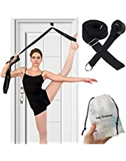 AMENKER Leg Stretcher Door Flexibility & Stretching Leg Strap, 9.8ft Door Flexibility Stretching Leg Strap Great Cheer Dance Gymnastics Trainer Stretching Equipment