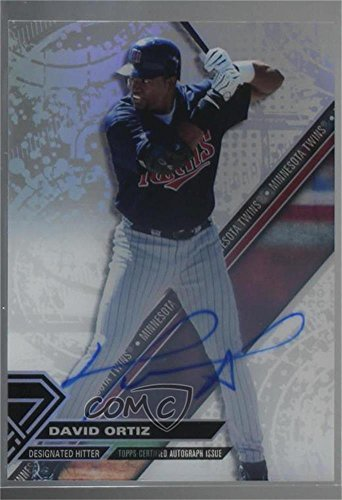 David Ortiz (Baseball Card) 2017 Topps High Tek - [Base] - Autographs [Autographed] #HT-DO - David Autographed Baseball