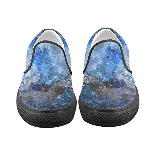 Unieke Debora Custom Fashion Dames Sneakers Ongebruikelijke Loafers Instappers Canvas Multicoloured17