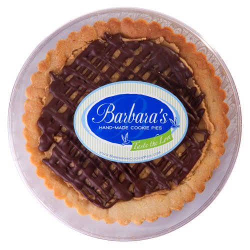 Barbara's Hand-Made Cookie Pies Gourmet Peanut Butter Cup Cookie Pie