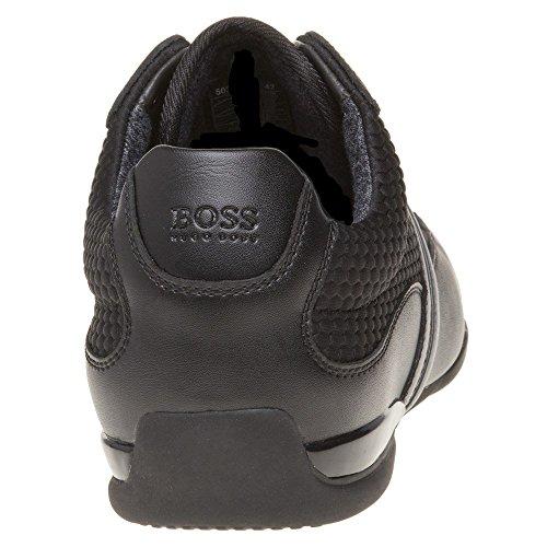 Boss Green Space_lowp Mens Sneakers Svart