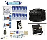 Ultimate Arms Gear 1 Person Supply 5 Day Emergency Bug Out S.O.S. Food Rations, Purified Drinking Water, LifeStraw Personal Water Filter Duty Bag + Survival First Aid Kit & Multi Tool Set