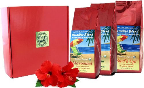 Power Boxed, Organic Coffee of the Month Club, Rain Forest Alliance Fair Trade Coffee, Shipped Monthly for Six Months, First Shipment Is Gift Boxed, Choicest Gift for Organic coffee Lovers, All Occasions