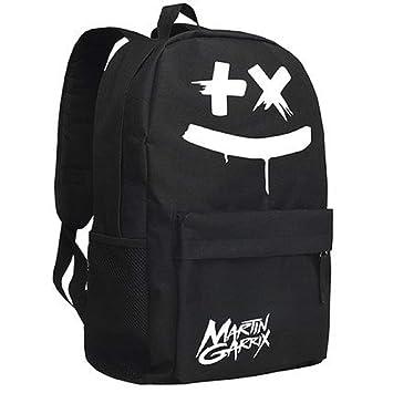 Mesky Mochila Escolar para Chicas Estudiantes Marshmello Logo Backpack Bolso Portátil Viaje Luggage Poliéster: Amazon.es: Equipaje