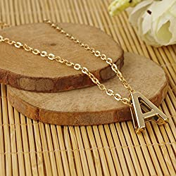 Nero 2015 Chic Letter a Shaped Chain Jewelry Necklaces for Women
