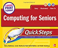 Computing for Seniors QuickSteps Front Cover