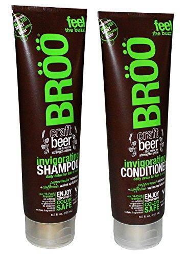 BROO Invigorating Shampoo Conditioner Natural