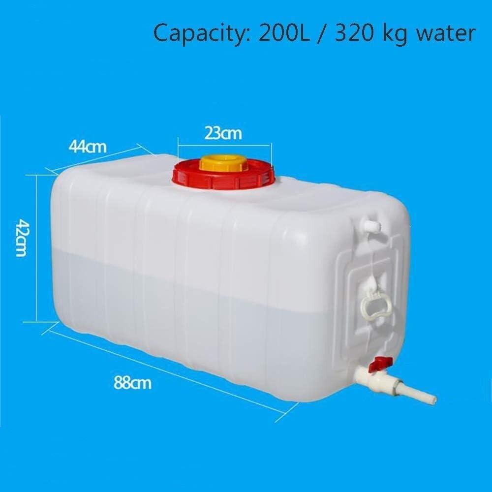 Chunjing 100L Grande Capacit/é R/éserve Deau Des Conteneurs R/éservoir Pour Camping Rectangle /Épaissir M/énage Seau De Stockage Deau ~ 20 /° ~ +70 /° pour Randonn/ée Chasse Voyage(100L//150L//200L//300L) Sold