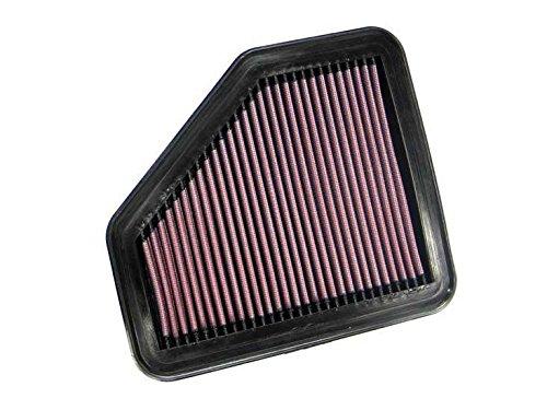 K&N ENGINEERING 33-2311 Air Filter; Panel; H-0.875 in.; L-9.375 in.; W-8.375 in.;