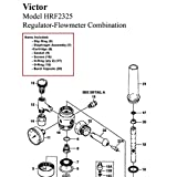 Victor 0790-0120 Repair Kit, Hrv/Hrf2325
