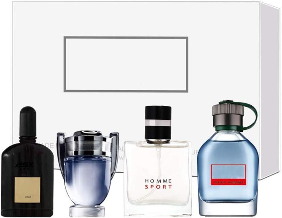 Set di fragranze per uomo, 4 x 25 ml 4 tipi di profumo per