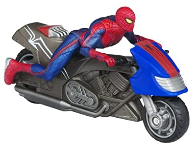 The Amazing Spider-man Zoom N Go Spider Cycle Vehicle from Hasbro
