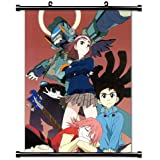 FLCL Anime Fabric Wall Scroll Poster (16 x 21) Inches.[WP]-FLCL-1