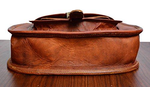 ADIMANI Hippe Leather Purse Crossbody Shoulder Bag Travel Satchel Women Handbag Bag 11'' inches