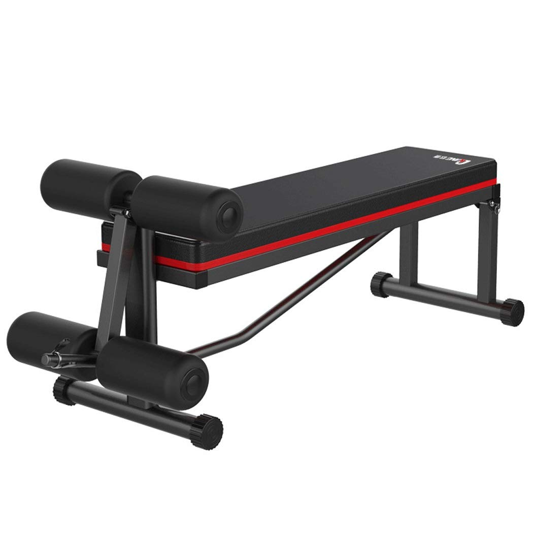 HUIFANG ダンベルベンチ仰臥ボード腹筋フィットネス機器ホーム腹部マシンスポーツ補助機器腹筋ボード120 * 41 * 55センチ より強い動き 120*41*55cm ブラック B07QB11VY3