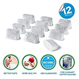 ABDQPC 12 Pcak Keurig Charcoal Coffee Filters Replacement Water Filters for Keurig Coffee Machines