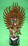 Garuda handmade wood carving from Bali Indonesia 24'' size Red or Black