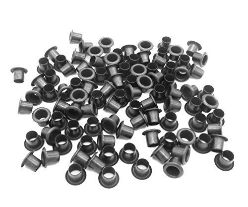 Knife Plain Kydex Sheath - QuickClip Pro Mil-Spec Kydex Eyelets GS 8-10, Brass Black Oxide 1/4