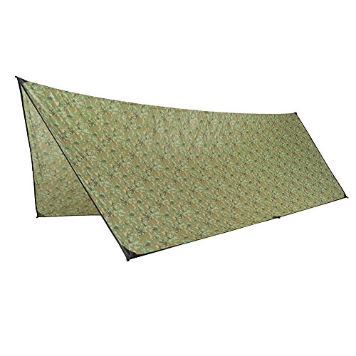 OneTigris Outdoor Hexagonal Camo Sil Tarp Waterproof & Ultralight RipStop Nylon Material 1310ft for Backpacking Hiking Camping (Camo) by OneTigris (Image #5)