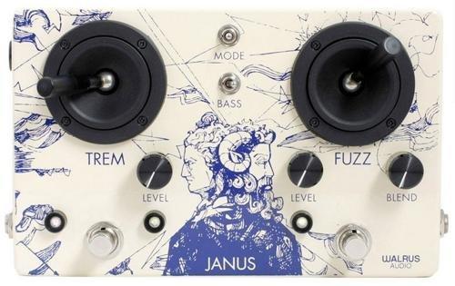 Walrus Audio Janus Tremolo/Fuzz Pedal [並行輸入品]   B078M32BJN