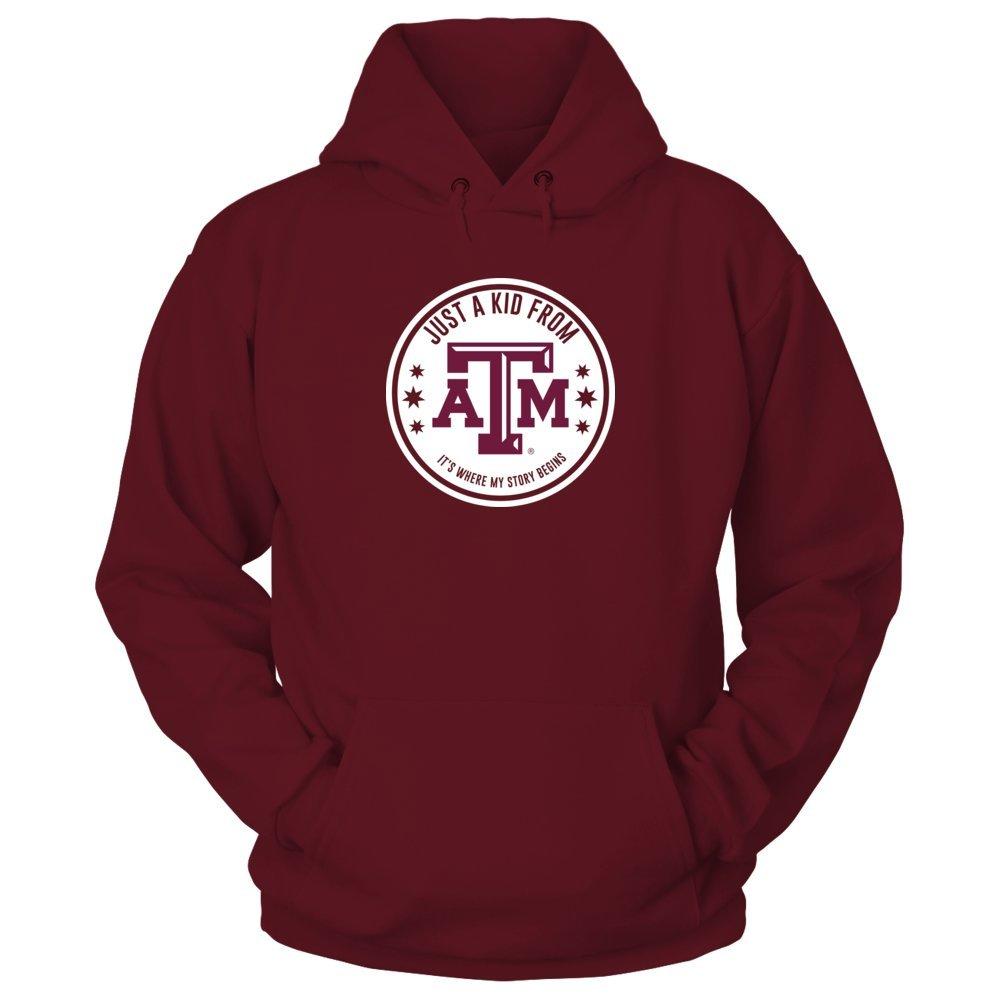 fa5e21fd Amazon.com: Texas A&M Aggies Just A Kid From Texas A&M T-Shirt ...