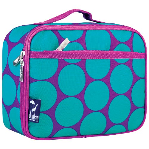 Lunch Box, Wildkin Lunch Box, Insulated, Moisture Resistant, and Easy to Clean with Helpful Extras...