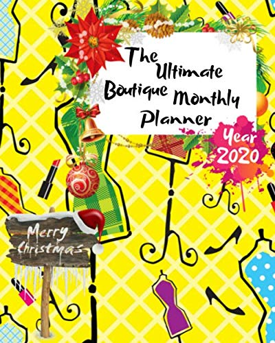 Halloween Clipart Dogs (The Ultimate Merry Christmas Boutique Monthly Planner Year 2020: Best Gift For All Age, Keep Track Planning Notebook & Organizer Logbook For Weekly ... Your Goals With The Pretty Modern)