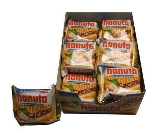 Ferrero Hanuta Chocolate Hazelnut Candy Wafers (18 x 2) 36 count by Hanuta