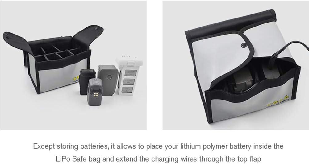 Xingsiyue Explosion Proof Guard Safety Battery Storage Bag Case for DJI Mavic Mini//Air//Pro Batteries