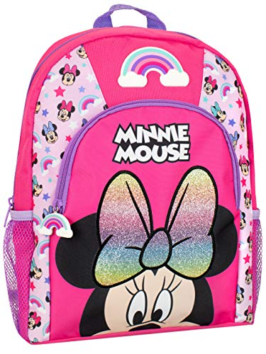 🥇 Disney Mochila para Niños Minnie Mouse Rosa
