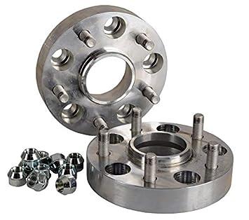 30 mm pro Scheibe // 60 mm pro Achse Spurverbreiterung Aluminium 2 St/ück incl T/ÜV-Teilegutachten
