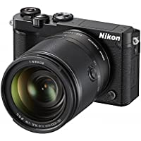 Nikon 1 J5 Mirrorless Digital Camera w/ 10-100mm Lens (Black) (International Model) No Warranty