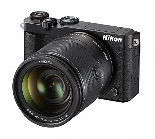 Nikon-1-J5-Mirrorless-Digital-Camera-w-10-100mm-Lens-Black-International-Model-No-Warranty