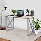 "Office Computer Desk, 47"" Modern Simple Style PC Laptop Table Office Desk Workstation for home office,Writing Home Office Furniture, Wooden Particleboard Table -White"