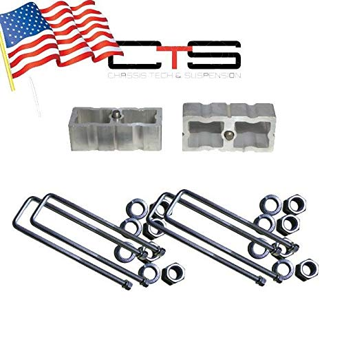 (Chassis Tech Toyota Pickup Rear Axle Square U-Bolts C 4