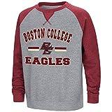 Youth Boston College Eagles Fleece Crewneck Sweatshirt - M
