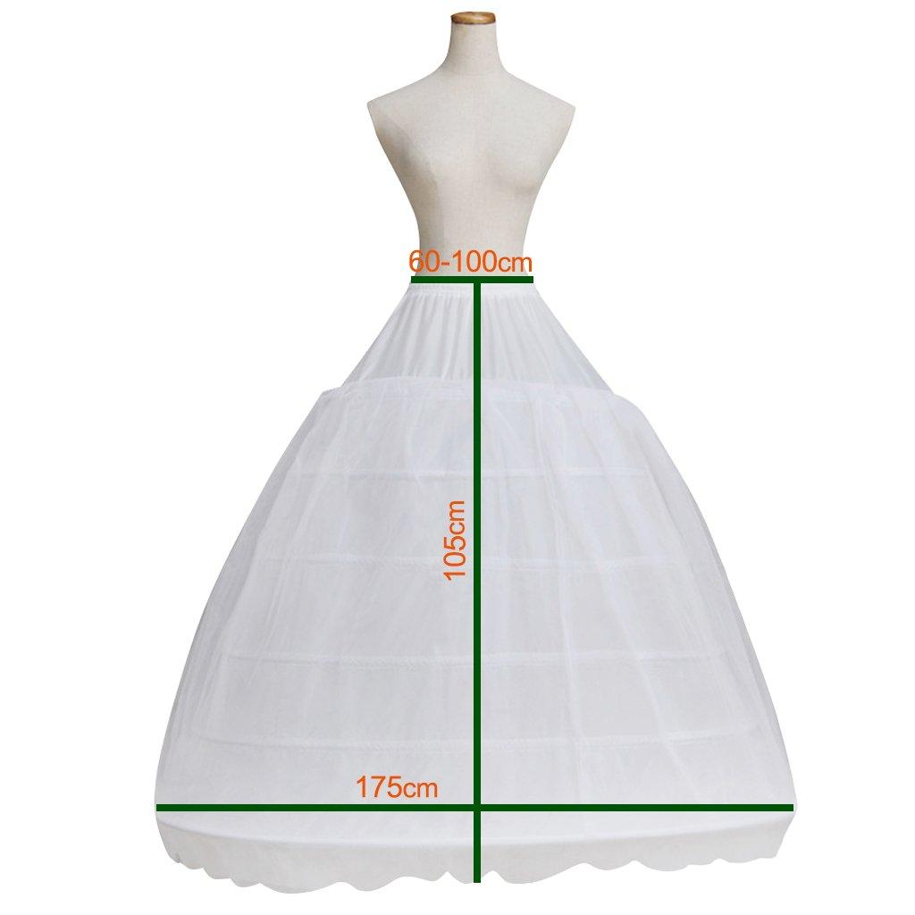 Cosplayitem 6 Aros Enagua para la Princesa Victoriana Vestido Novia de Boda: Amazon.es: Ropa y accesorios
