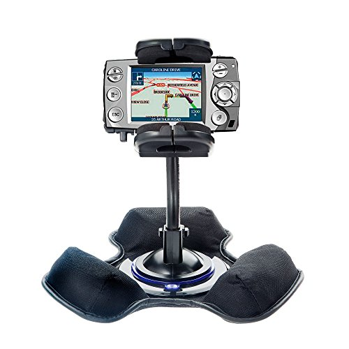 Unique Mounting System Includes Flexible Windshield and Bean Bag Dashboard Mounts to Keep Your Navman iCN 550 Secure in any Car / Truck