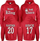 King and Queen Hoodies Couple design Together/Since - Married/Since Sold Separately