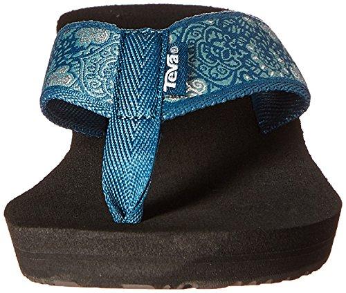 760152e4c645 Teva Women s Mush Mandalyn Flip-Flop Harmony Deep Teal 11 B(M) US   Amazon.in  Shoes   Handbags