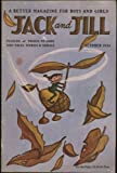img - for Jack and Jill Magazine October 1954 (with puzzle cut-outs pages) (Volume 16, No. 12) book / textbook / text book