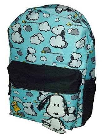 Backpack - Peanuts - Snoopy Lost in the Clouds New 842557   B010EJKQ96