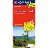 Nordschwarzwald - Karlsruhe - Pforzheim: Fahrradkarte. GPS-genau. 1:70000 (KOMPASS-Fahrradkarten Deutschland, Band 3094)