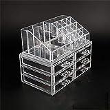Jwelry Making Storage: Plastic Acrylic 6 Drawers Jewelry Cosmetic Organizer Good Qaulity Cheap Price Make Up Organizer Makeup Organizer Holder Box Case