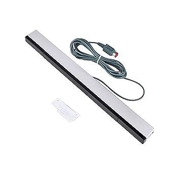 NewBull Barra de sensor de movimiento remoto con cable IR Rayo infrarrojo inductor para Wii Wii