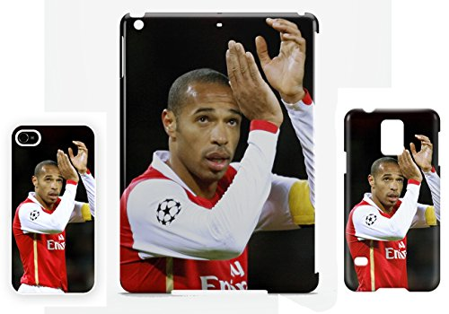 Thierry Henry Gunners Legend iPhone 7 cellulaire cas coque de téléphone cas, couverture de téléphone portable