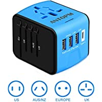 ANTOPM Universal Travel Adapter (Blue)